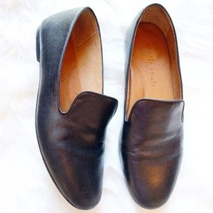 Gentle Souls Eugene Leather Smoking Loafer EUC 8